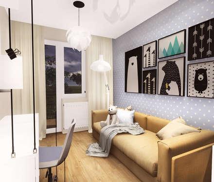 : modern Nursery/kid's room by KOKON zespół architektoniczny