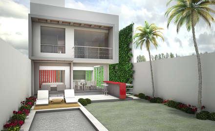 : Jardines de estilo moderno por Soluciones Técnicas y de Arquitectura