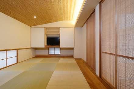 豊橋市 宮下町の家: スタジオグラッペリ 1級建築士事務所 / studio grappelli architecture officeが手掛けた書斎です。