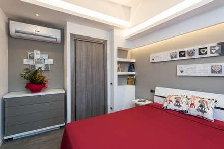 ห้องนอน by Luca Palmisano Architetto