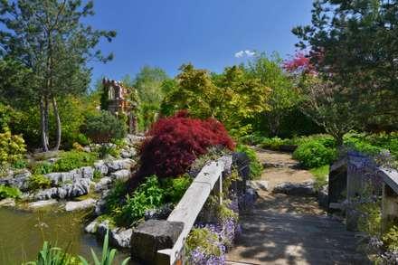 Kilbees's Farm - Landscape Gardening: rustic Garden by Ashwells Timber