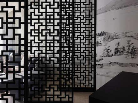 富「村」山居Dwelling in the Fuchun Mountains:  窗戶與門 by Glocal Architecture Office (G.A.O) 吳宗憲建築師事務所/安藤國際室內裝修工程有限公司