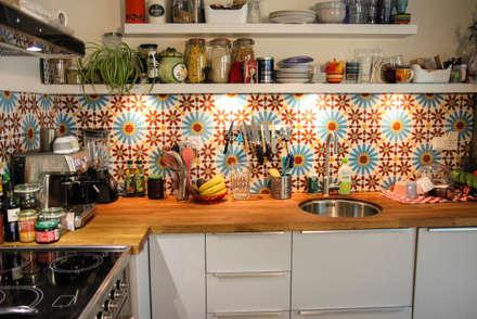 Eclectische keuken idee n en inspiratie homify - Keuken met wijnkelder ...