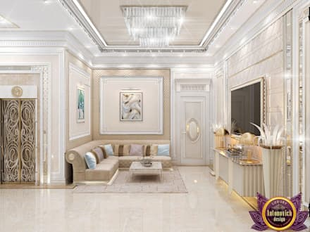 Corridor, hallway by Luxury Antonovich Design