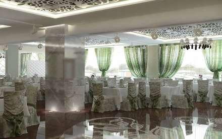 Банкетный зал: Ресторации в . Автор – Мастерская дизайна Онищенко Марии