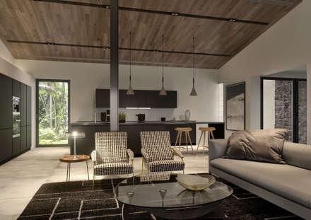 مطبخ تنفيذ Tendenza -  Interiors & Architecture Studio