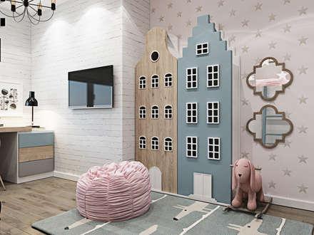 Dormitorios infantiles de estilo clásico por Interior designers Pavel and Svetlana Alekseeva