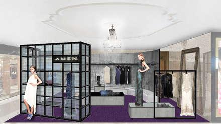 AMEN - HARVEY NICHOLS - LONDON:  Commercial Spaces by M2A Design