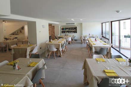 Da Giorgio   Ristorante Albergo Ardesio: Hotel in stile  di architetto giuseppe bellinelli