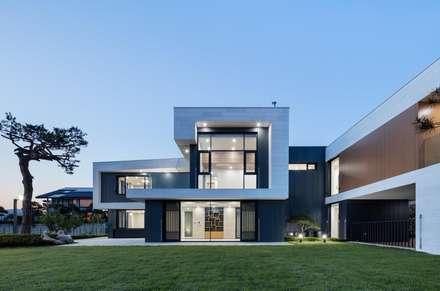 modern Houses by 아키누스(건축동인) 건축사사무소