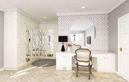 eclectic Dressing room by เหนือ ดีไซน์ สตูดิโอ (North Design Studio)