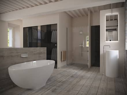 badezimmer ideen, design und bilder | homify - Ideen Badezimmergestaltung