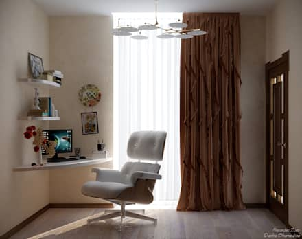 Дизайн гардеробной в доме в пос. Старобжегокай, г.Краснодар: Гардеробные в . Автор – Студия интерьерного дизайна happy.design