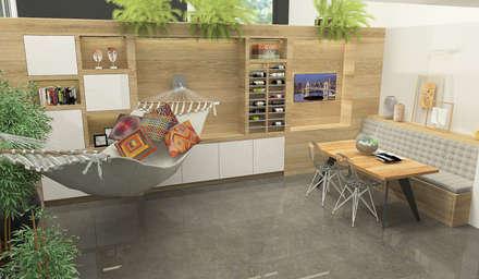 Dining Room in Osterwijk: moderne Eetkamer door Studio Baoba