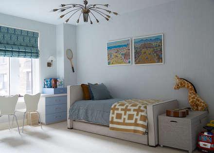 New York City Family Home Modern Bedroom By Jkg Interiors