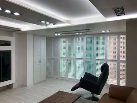modern Living room by DFactory 디팩토리