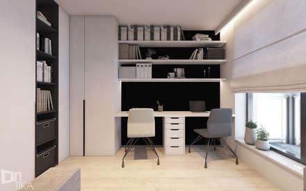 minimalistic Study/office by TIKA