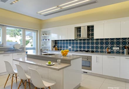 Kitchen: eclectic Kitchen by Jam Space Ltd