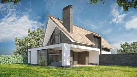 Woonhuis HBSG: moderne Huizen door 2architecten