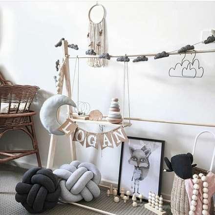 cinza design studio dormitorios infantiles de estilo escandinavo por cinza design studio