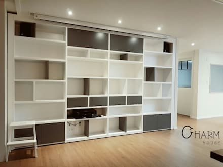 modern Study/office by CHARM_HOUSE