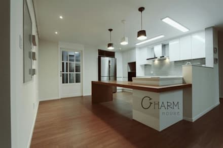 modern Dining room by CHARM_HOUSE