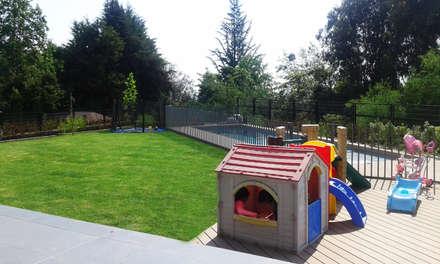 moderner Garten von Arc Arquitectura