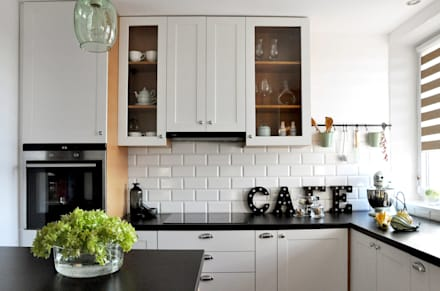 : eclectic Kitchen by poziom3.