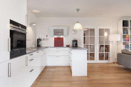 Skandinavische Kücheneinrichtung