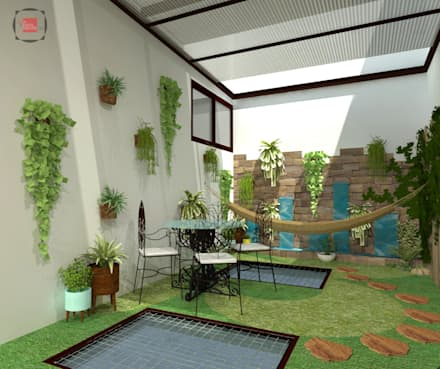 باغ by JELKH Design Architects s.a.s