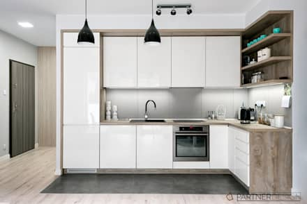 moderne k chen ideen design und bilder homify. Black Bedroom Furniture Sets. Home Design Ideas