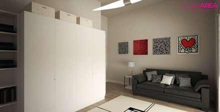 Ristrutturazione casa privata Taranto: Studio in stile in stile Eclettico di progettAREA interni & design