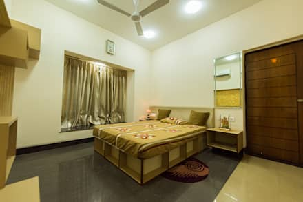 Kids'/Guest Room (2nd Floor): modern Bedroom by Ankit Goenka