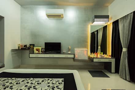 sanchetna modern bedroom by ankit goenka - Bedroom Interior Design Ideas