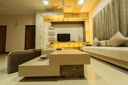interior wall designs for living room. Sanchetna  Modern Living Room By Ankit Goenka Room Design Ideas Interiors Pictures Homify