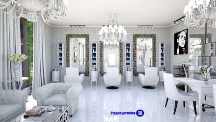 Beauty salon:  Commercial Spaces by 'Design studio S-8'