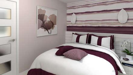La chambre: Chambre de style de style Moderne par MJ Intérieurs