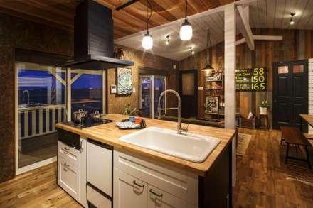 house-08: dwarfが手掛けたキッチンです。