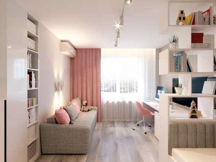 Flat_k57: Детские комнаты в . Автор – ARCHIForma