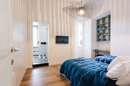 camera da letto: idee, immagini e decorazione | homify - Arredare Parete Camera Da Letto