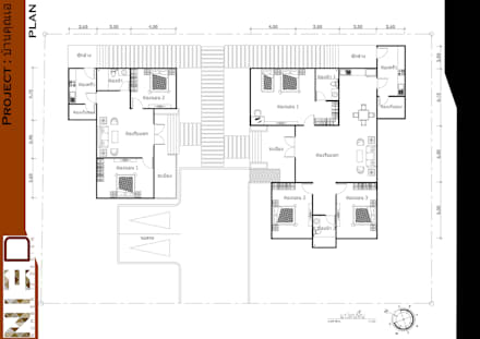 Home A:  บ้านและที่อยู่อาศัย by No.13 Design