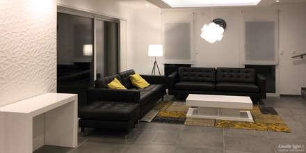 Agencement d'une maison neuve: Salon de style de style Moderne par Camille Lafut