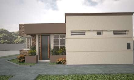 Vivienda en San Martin: Casas de estilo moderno por Estudio Barrios Astuto