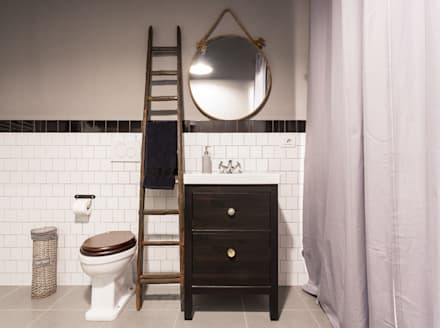 Phòng tắm by NOMADE ARCHITETTURA E INTERIOR DESIGN