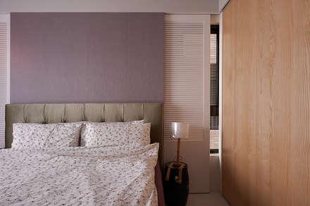 白色百葉窗:  窗戶與門 by 趙玲室內設計