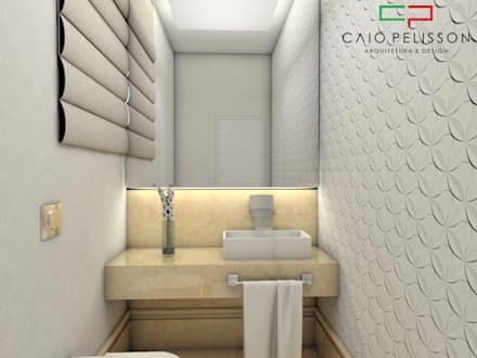 moderne badezimmer von caio pelisson arquitetura e design - Moderne Badezimmer