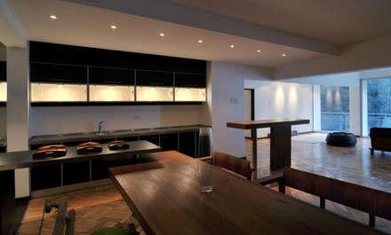 Remodelación Parque Forestal: Cocinas de estilo minimalista por Nicolas Loi + Arquitectos Asociados