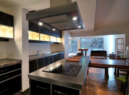置入式廚房 by Nicolas Loi + Arquitectos Asociados