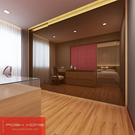 Master Bedroom - Tempanise Central: modern Bedroom by Posh Home