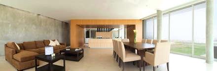 Casa Memoria: Comedores de estilo moderno por Chetecortes Arquitectos